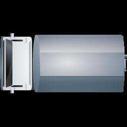 FuelTank Truck Top Grey icon