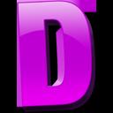Letter d icon