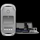 Power Mac G4 FW 800 open icon
