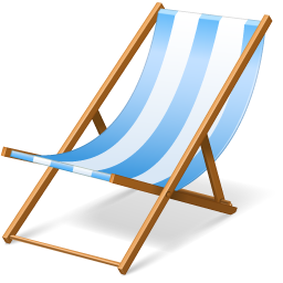 beach chair icon