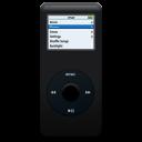 iPod nano black icon