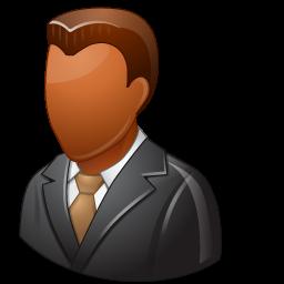 Office Client Male Dark icon