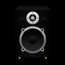 Speaker Black Plastic icon