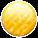gold button icon