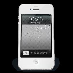 iPhone White iOS icon