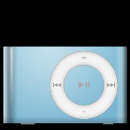 iPod Shuffle Baby Blue icon