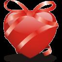 ribbon heart icon