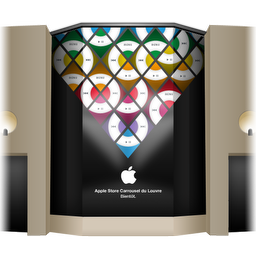 Apple Store Louvre Front Cover icon