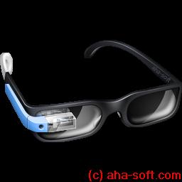 Guy Google Glasses icon