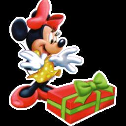 Minnie Christmas icon