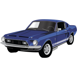 Muscle Car Mustang GT icon