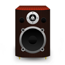 Speaker Red Wood icon