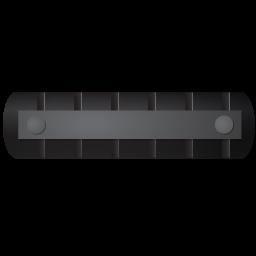 WasteTankerTrailer Top Black icon