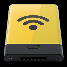 Yellow Airport icon