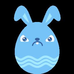 blue crabby icon