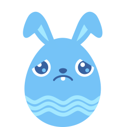 blue sad icon