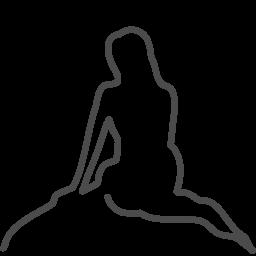 copenhagen mermaid icon