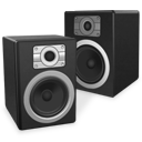 eXperience speakers twin icon