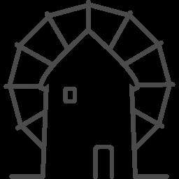 greece windmill icon