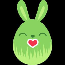 green kiss icon