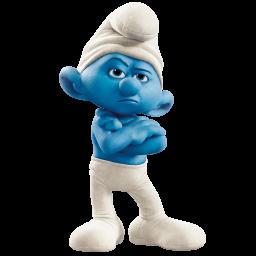 grouchy smurf icon