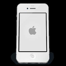 iPhone White Apple icon
