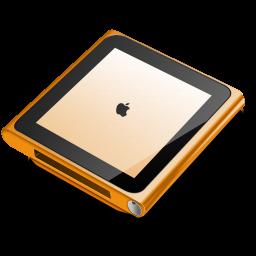 iPod nano orange icon