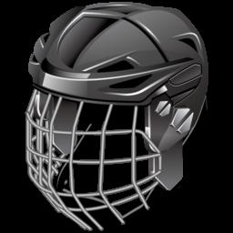 ice hockey helmet icon