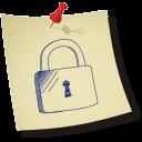 padlock locked icon