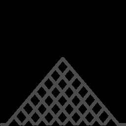 paris louvre icon