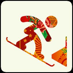 sochi 2014 snowboard icon