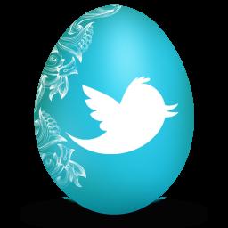twitter white icon