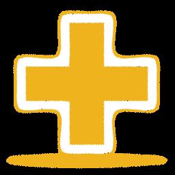 yellow plus icon
