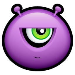 Alien mad icon