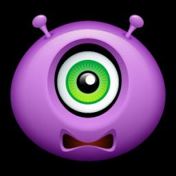 Alien scared icon