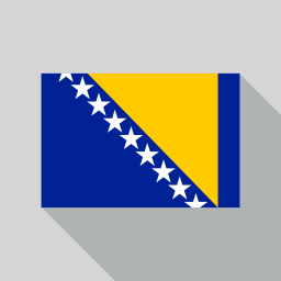Bosnia and Herzegovina Flag icon