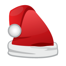 Christmas Santa Cap icon