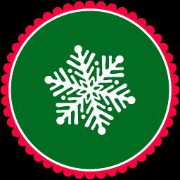 Christmas Snow Flakes 3 icon