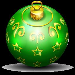 christmas tree ball 2 icon